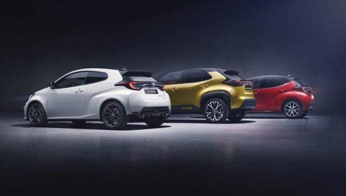 Toyota Yaris gama