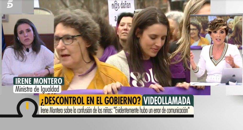 Irene Montero y Sonsoles Ónega en