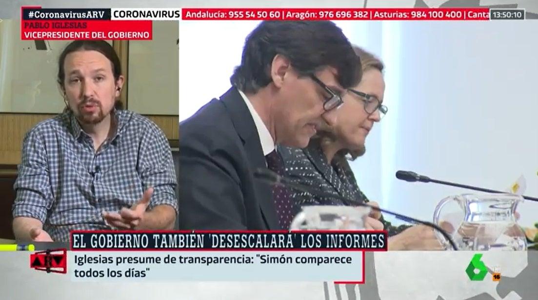 Pablo Iglesias en