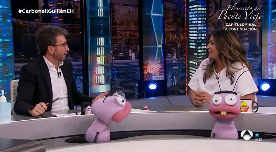 Pablo Motos y Nuria Roca en