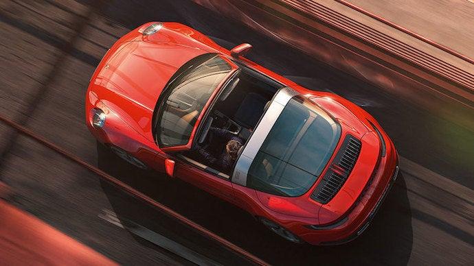 Porsche 911 targa superior