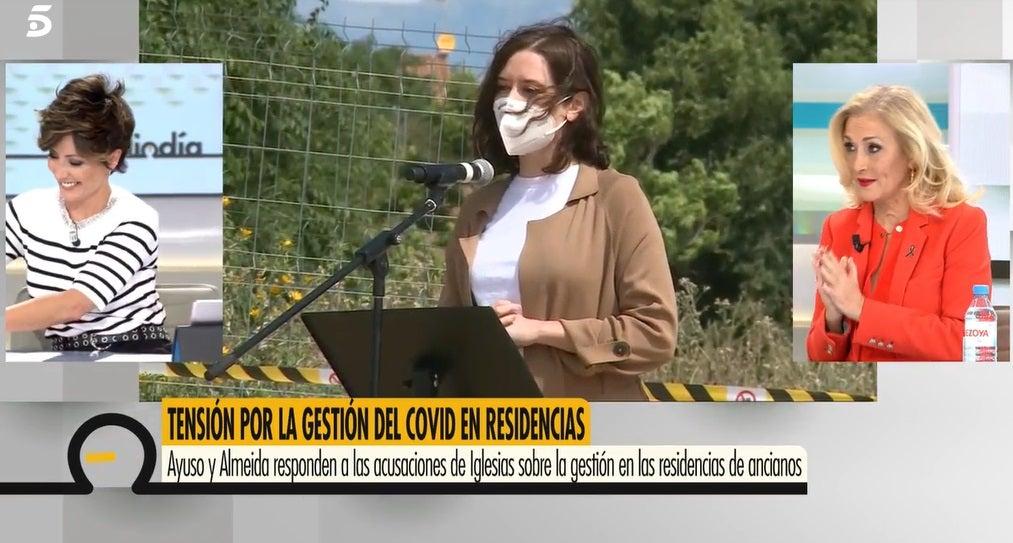 Sonsoles Ónega y Cristina Cifuentes