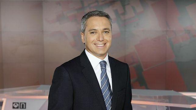 Vicente Vallés, presentador de Antena 3 Noticias 2