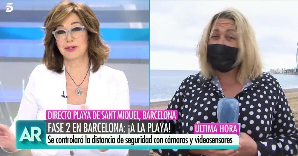 Ana Rosa Quintana y Mayka Navarro en