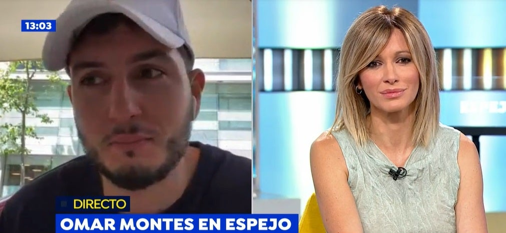 Omar Montes y Susanna Griso en