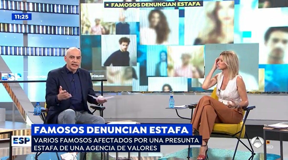 Nacho Abad y Susanna Griso en