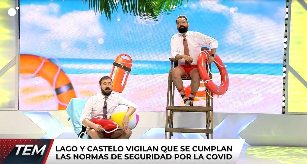 Antonio Castelo y Miguel Lago en