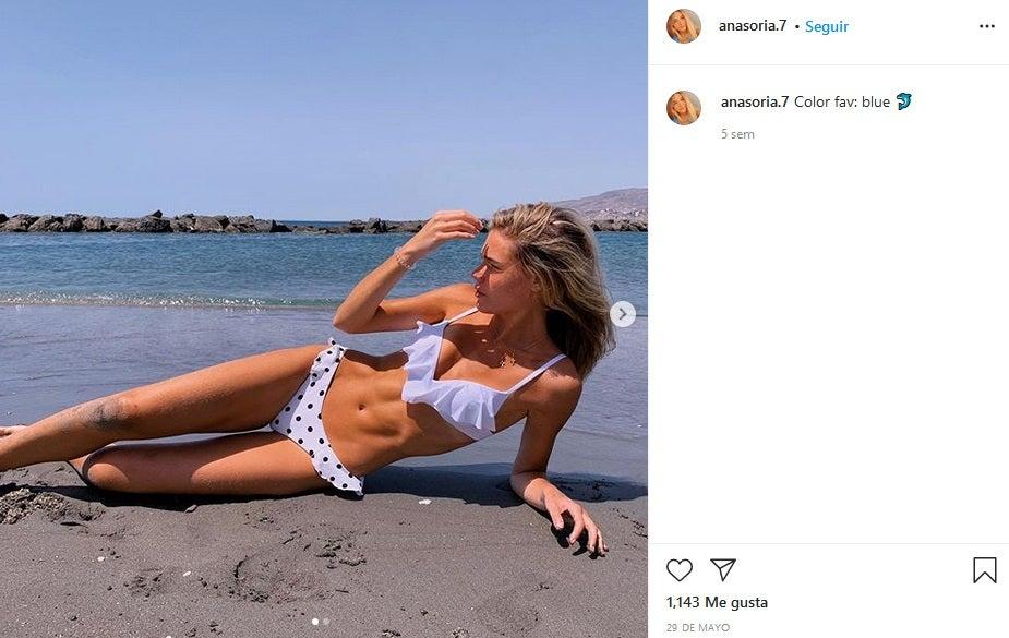 Ana Soria, novia de Enrique Ponce