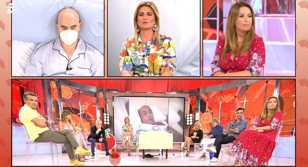 Carlota Corredera presentando
