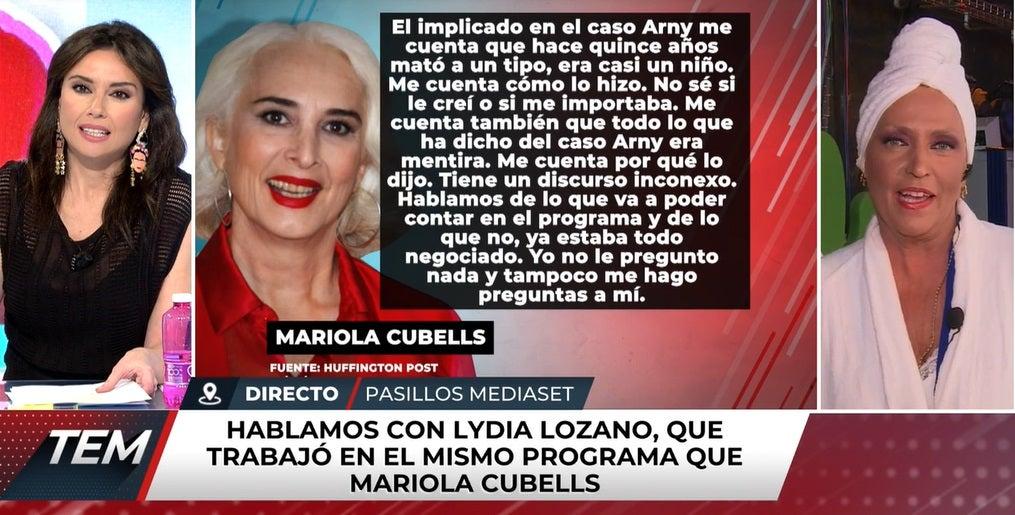 Marta Flich y Lydia Lozano en