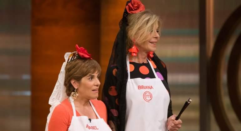 Anabel Alonso y Bibiana Fernández