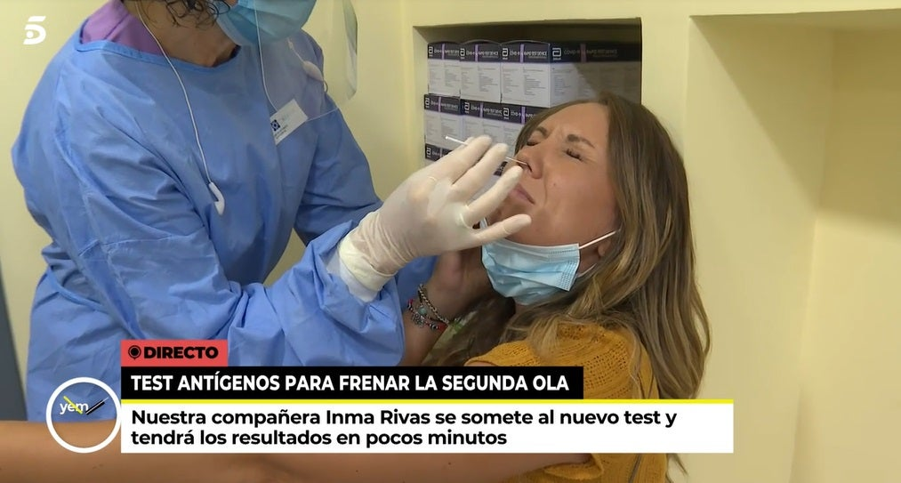 Inma Rivas, reportera de