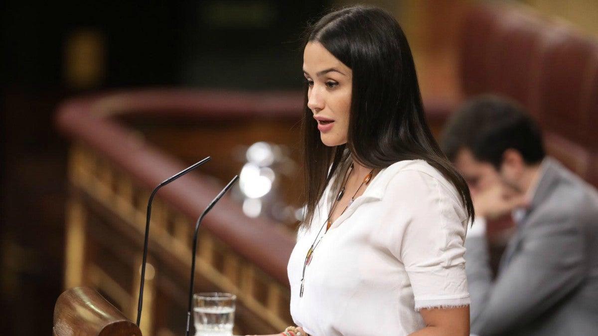 Mireia Borrás, diputada de Vox