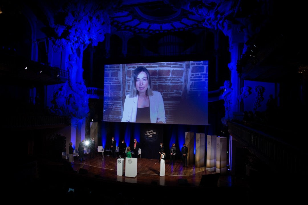 Sandra Barneda, Finalista del Premio Planeta 2020