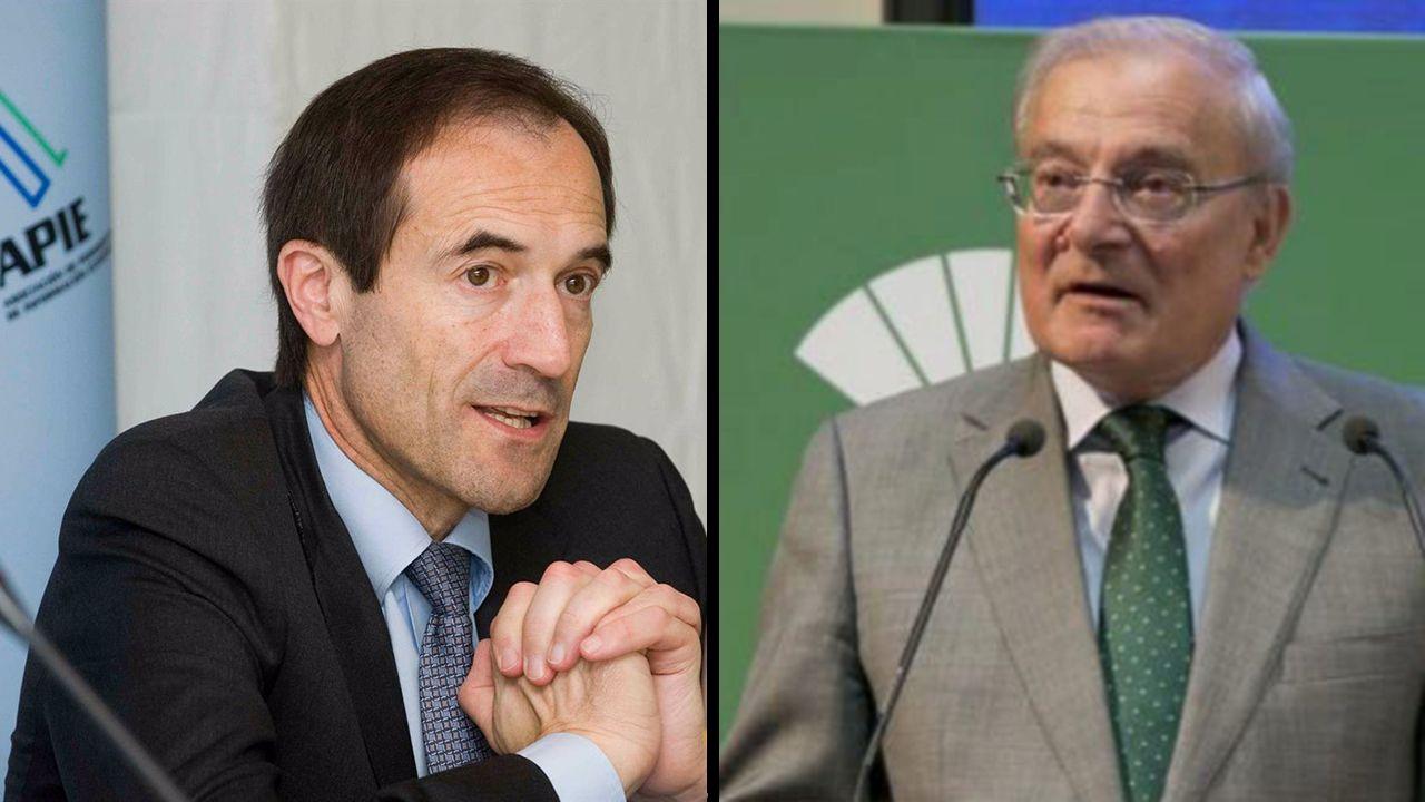 Fusión Unicaja y Liberbank presidentes