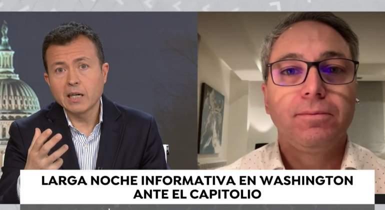 Manu Sánchez y Vicente Vallés