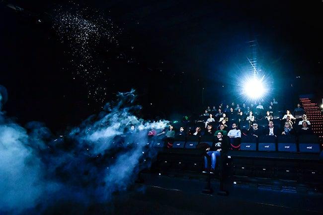 Kinepolis madrid estrena la primera sala en 4d de espa a for Sala 4d cinepolis