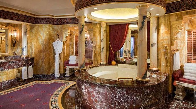 Baño Mas Lujoso Del Mundo: soñar desde casa: los 5 hoteles más caros del mundo en tu pantalla