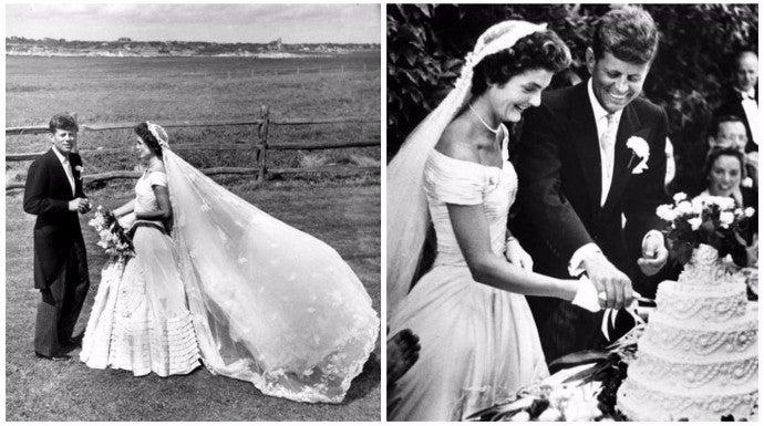 vestido de novia jackie kennedy