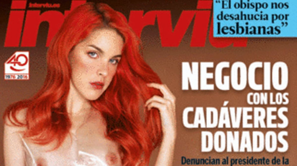 Actrices Porno Bizca la actriz porno de podemos se desnuda en portada y se la