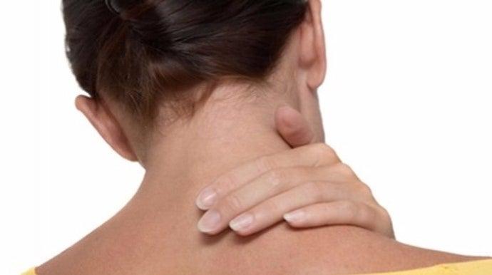 como aliviar dolor de cervicales cuello