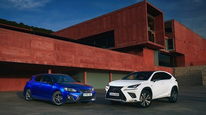 Lexus actualiza sus 'best sellers': El NX 300h y el CT 200h