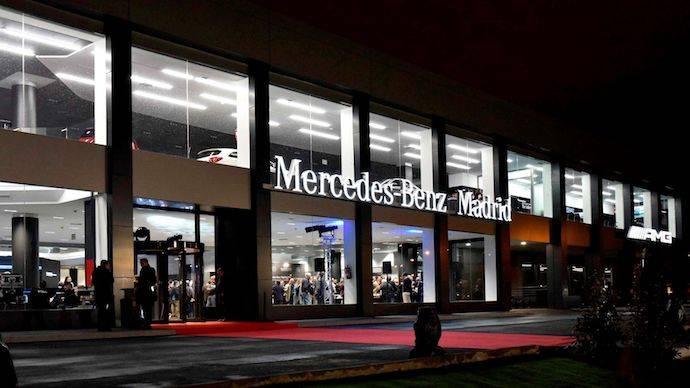 Mercedes ya tiene su Flagship Store en Madrid