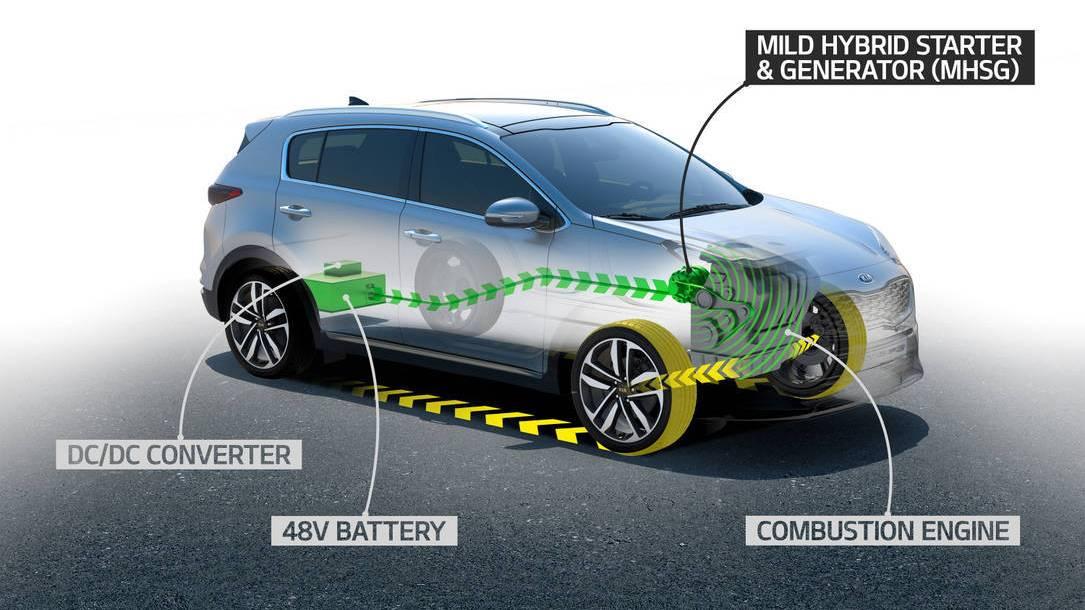 Kia lanzará un motor híbrido diésel de 48v en 2018