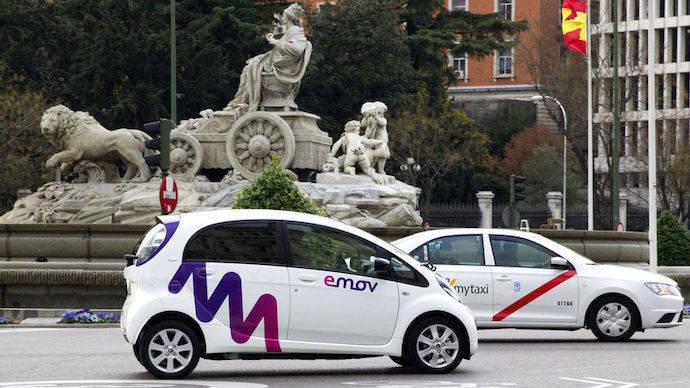 """Madrid vuelve a volcarse con los coches """"verdes"""""""