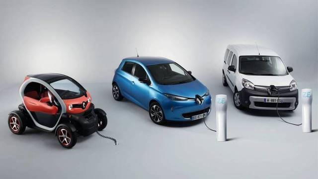 Gama Renault EV
