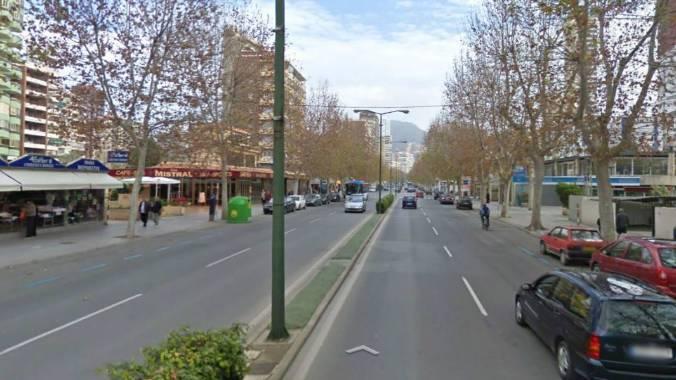 Resultado de imagen de avenida mediterráneo benidorm