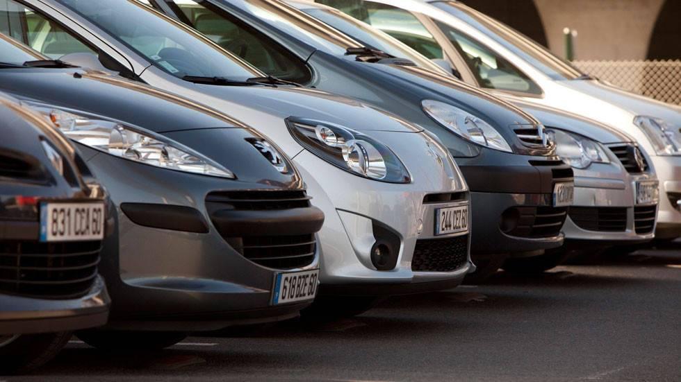 El renting invirtió 2.851 millones en la compra de vehículos