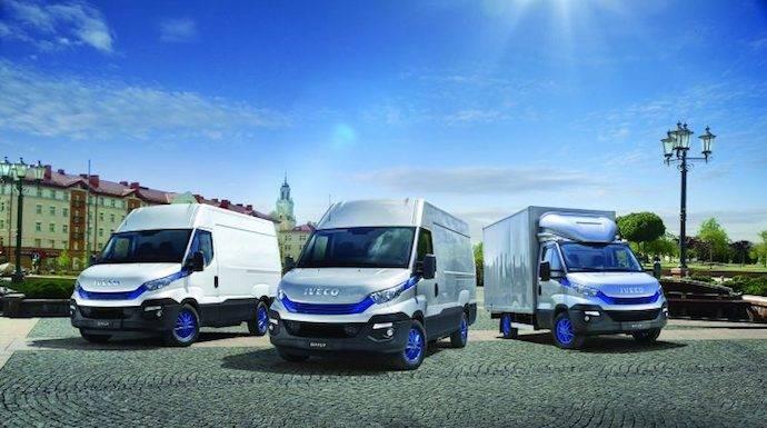 Iveco y el transporte urbano del futuro para repartos
