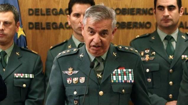 El coronel jefe de la UCO ahora cesado, Manuel Sánchez Corbí.