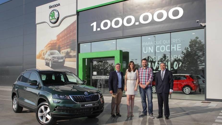 Škoda alcanza la producción de un millón de vehículos SUV  desde 2009