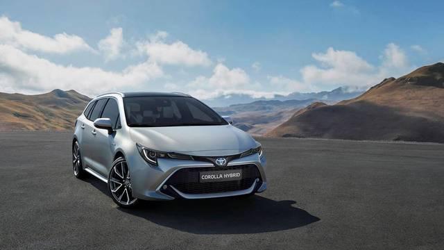Toyota presentará en el Salón de París el Corolla hybrid Touring Sports