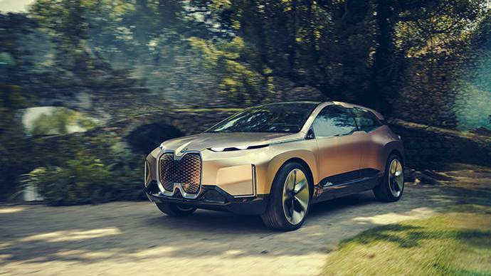 El BMW Vision iNEXT Concept anticipa el futuro de BMW Group
