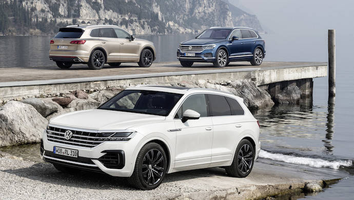 Volkswagen Touareg 2019, un producto particularmente Premium
