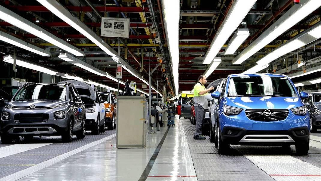 Crece un 5% la producción española de vehículos
