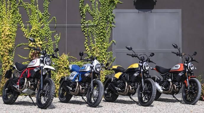 Ducati Scrambler 2019, más modelos a la carta