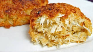 Maryland crab cake