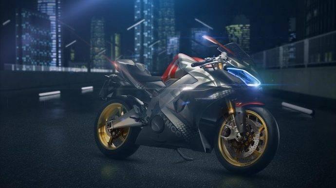 La primera moto de Kymco será eléctrica