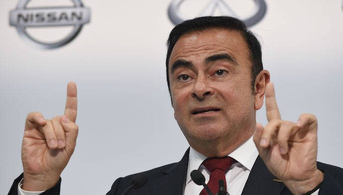 Nissan destituirá a Ghosn tras su arresto en Japón