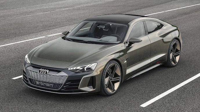 Audi e-Tron GT, la electrificación también será deportiva