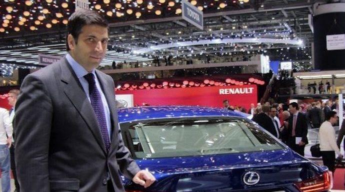 Cambios en la dirección de Toyota España