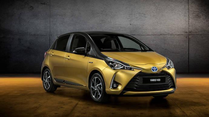 Toyota celebra los 20 años del Yaris con una versión para nostálgicos