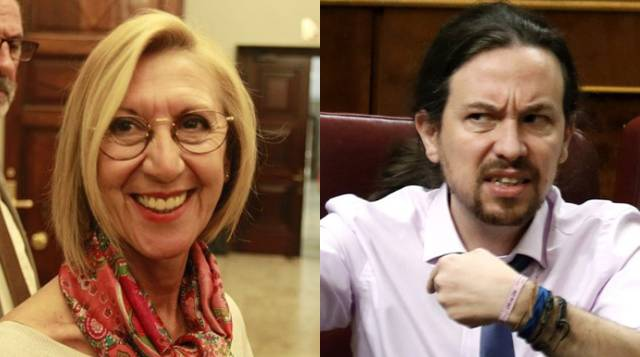 Rosa Díez revela su conversación con Pablo Iglesias tras aguantarle un escrache