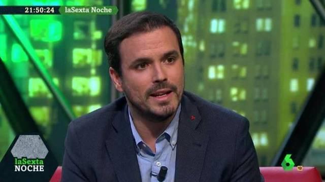 Garzón compara en La Sexta Noche las victorias de la derecha con el auge del nazismo en Alemania