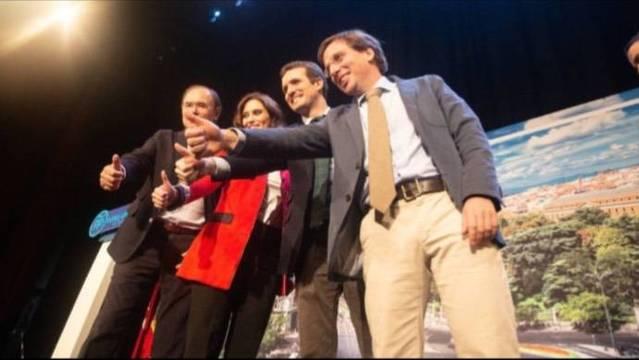 El PP de Madrid vuelve convencido al aguirrismo para frenar al populismo