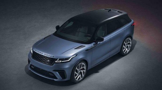 El Range Rover Velar pasa por las manos de SVO para volverse indómito